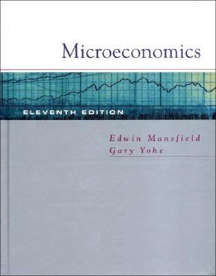 Microeconomics Theory/Applications