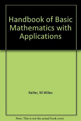 Handbook of Basic Math With Applications