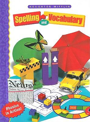 Houghton Mifflin Spelling and Vocabulary Level 3