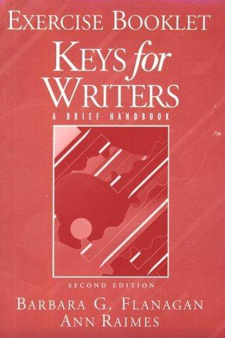 Keys for Writers: Exercise Booklet