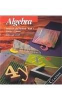 Algebra: Structure and Method, Book 1, Teacher's Edition