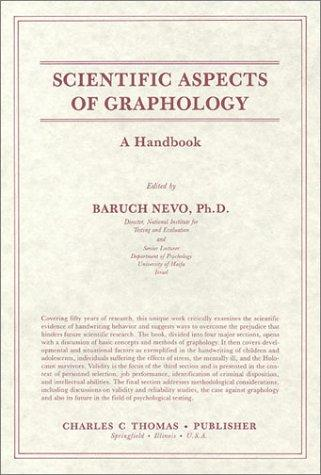 Scientific Aspects of Graphology: A Handbook