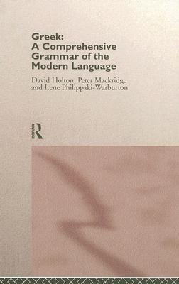 Greek Comprehensive Grammar of the Modern Language