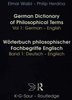 German dictionary of philosophical terms worterbuch for Dictionary englisch deutsch