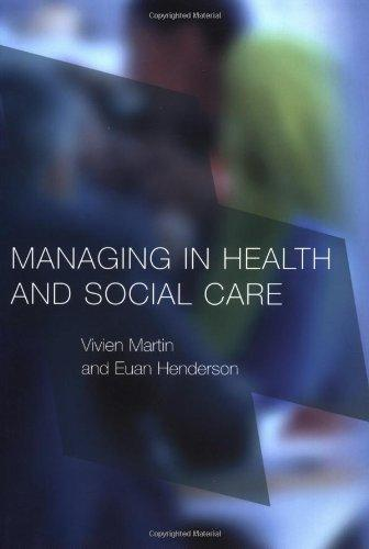 Managing in Health and Social Care