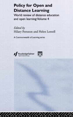 Policy for Open and Distance Learning World Review of Distance Education and Open Learning