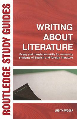 Writing About Literature Essay And Translation Skills For University Students Of English And Foreign Literatures