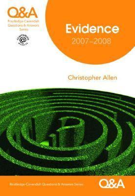 Q&a Evidence 2007-2008