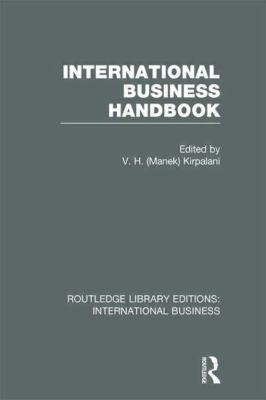 International Business Handbook (RLE International Business)