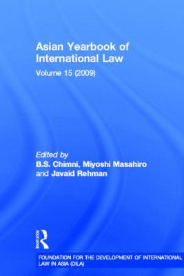 Asian Yearbook of International Law: Volume 15 (2009)
