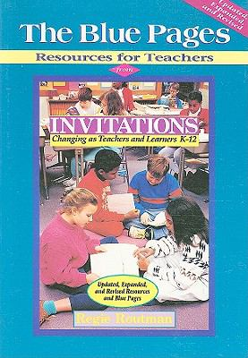 Blue Pages Resources for Teachers  From Invitations