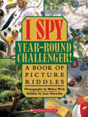 I Spy Year-Round Challenger! A Book Of Picture Riddles