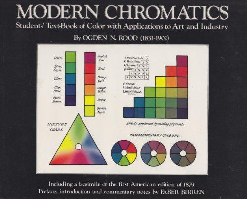 Modern chromatics; students' text-book of color,: With applications to art and industry