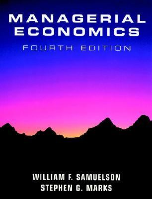 managerial economics 4th edition pdf