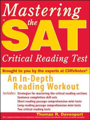 Mastering the SAT Critical Reading Test