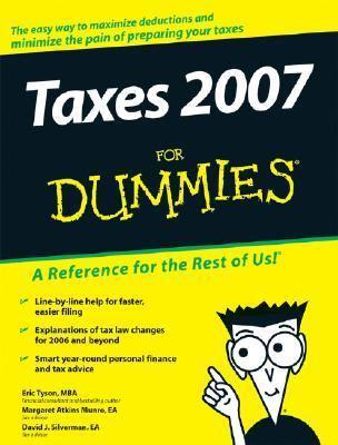 Taxes 2007 for Dummies