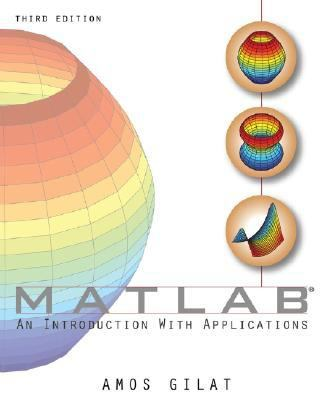 Matlab An Introduction With Applications
