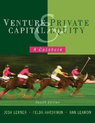 venture capital and private equity a casebook 4th edition pdf