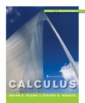 Calculus: Single-Variable