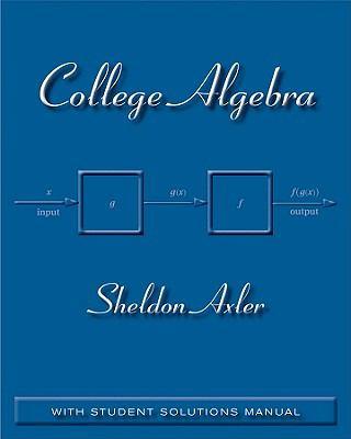 College Algebra First Edition