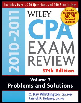 Wiley CPA Examination Review, Problems and Solutions (Wiley CPA Examination Review Vol. 2: Problems & Solutions) (Volume 2)