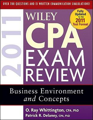 Wiley CPA Exam Review 2011, Business Environment and Concepts