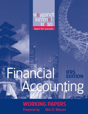 Financial Accounting, Working Papers: IFRS