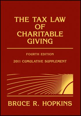 Tax Law of Charitable Giving 2011