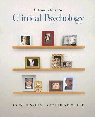 Introduction to Clinical Psychology An Evidence-based Approach