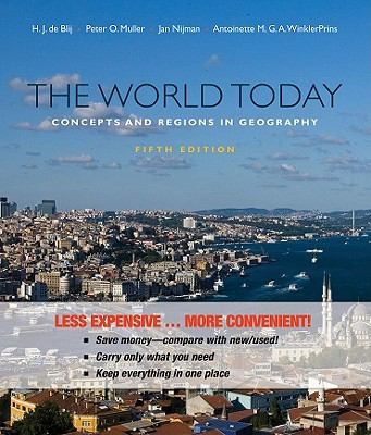 World Today : Concepts and Regions in Geography, Fifthedition Binder Ready Version
