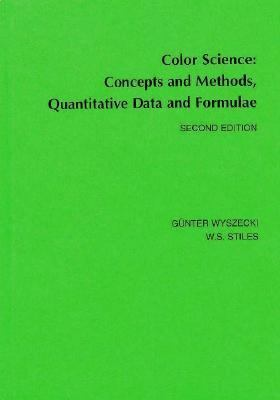 Color Science Concepts and Methods, Quantitative Data and Formula