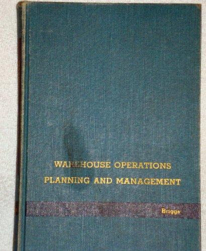 Warehouse Operations Planning and Management