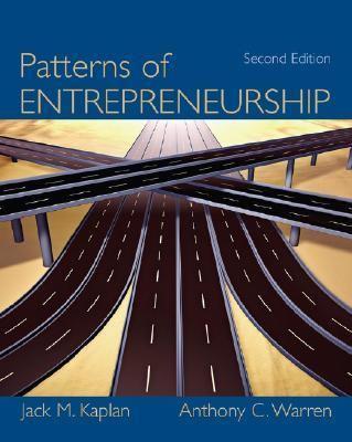 Patterns of Entrepreneurship
