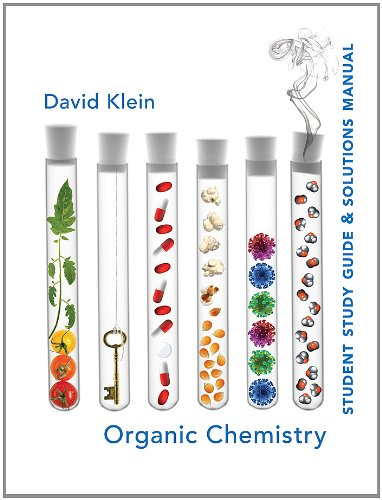 Student Study Guide and Solutions Manual for Organic Chemistry