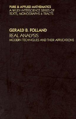 Real Analysis:modern Tech.+their Appl.