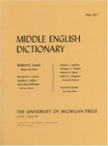 Middle English Dictionary: W.7