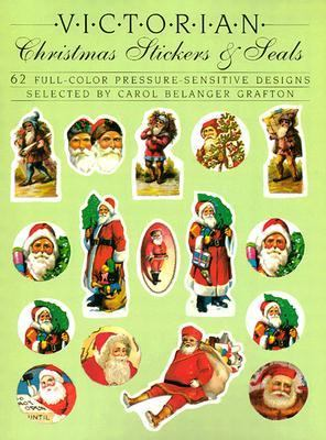 Victorian Christmas Stickers and Seals