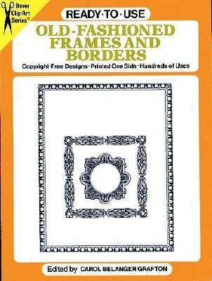 Ready-To-Use Old Fashioned Frames and Borders