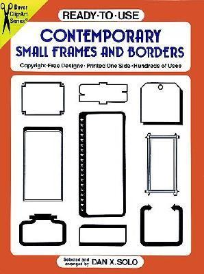 Ready-To-Use Contemporary Small Frames and Borders