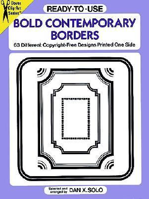 Ready-To-Use Bold Contemporary Borders