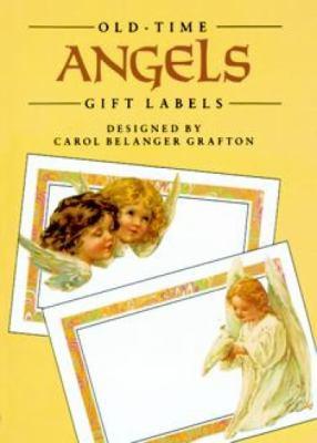 Old-Time Angels Gift Labels 8 Pressure-Sensitive Designs