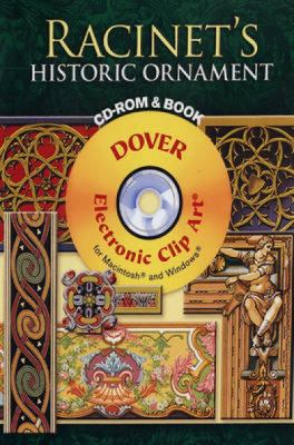 Racinet's Historic Ornament CD-ROM and Book