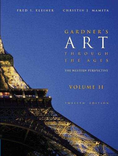 Gardner's Art through the Ages: The Western Perspective, Volume II (with ArtStudy CD-ROM 2.1, Western)