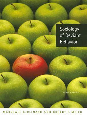Sociologists definition of deviant behavior