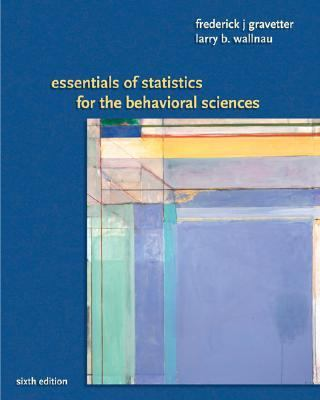 Essentials of Statistics for Behavioral Science
