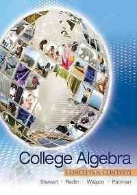 College Algebra: Concepts and Contexts (Includes Webassign)