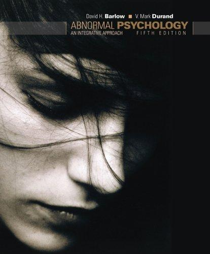 Cengage Advantage Books: Abnormal Psychology: An Integrative Approach (with Abnormal Psych Live CD-ROM) (Thomson Advantage Books)