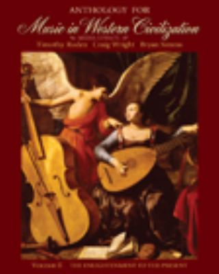 Anthology for Music in Western Civilization, Volume II