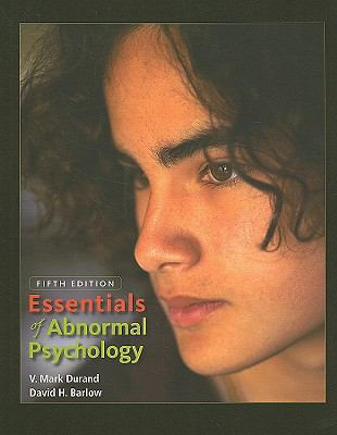 Essentials of Abnormal Psychology (with CD-ROM)