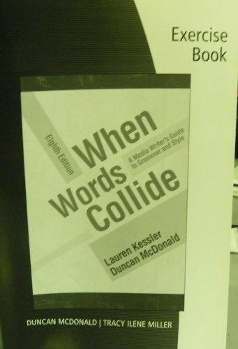 Student Workbook for Kessler/McDonald's When Words Collide, 8th